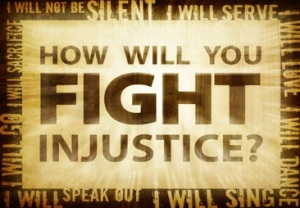 fight injustice