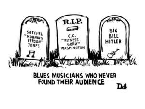 blues headstones