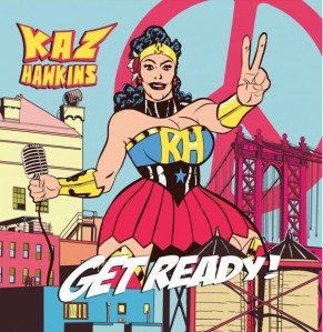 Kaz Hawkins Get Ready album cover artwork