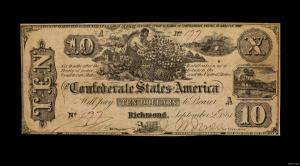 confederate currency