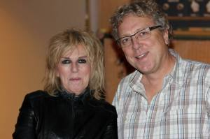 Jeffrey Gaskill with Lucinda Williams